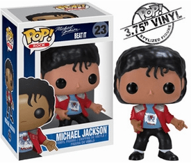 Funko Pop Rock Vinyl 23 Michael Jackson Beat It Figure