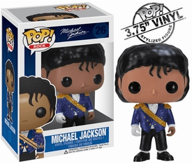 Funko Pop Rock Vinyl 26 Michael Jackson Military Figure