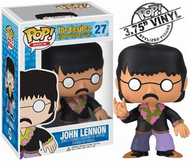 Funko Pop Rock Vinyl 27 Beatles Yellow Submarine John Lennon Figure