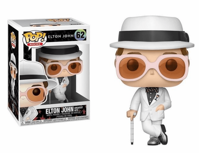 Funko Pop Rock Vinyl Elton John Greatest Hits Figure