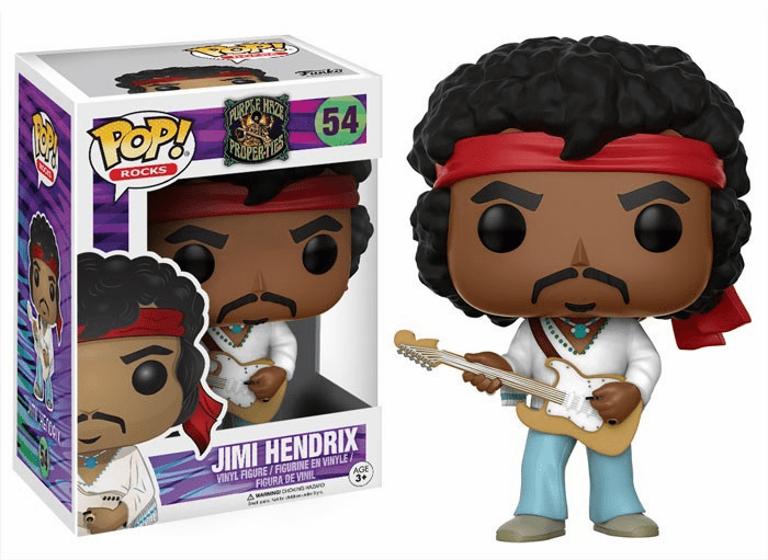 Funko Pop Rock Vinyl Jimi Hendrix Figure