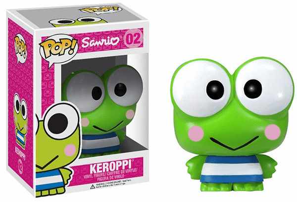 Funko Pop Sanrio Vinyl 02 Hello Kitty Keroppi Figure