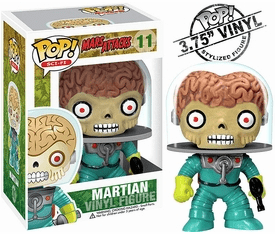 Funko Pop Sci-Fi Vinyl 11 Mars Attacks Martian Figure
