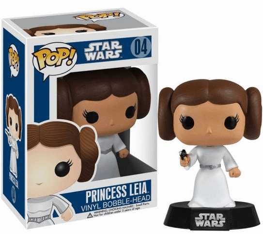 Funko Pop Star Wars Vinyl 04 Princess Leia Bobblehead