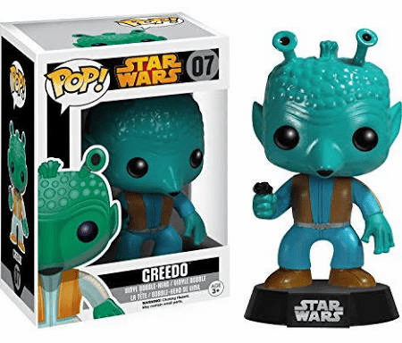 Funko Pop Star Wars Vinyl 07 Greedo Bobblehead