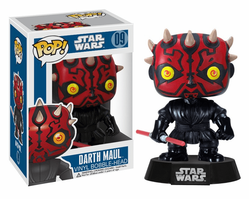 Funko Pop Star Wars Vinyl 09 Darth Maul Figure