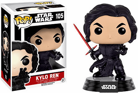 Funko Pop Star Wars Vinyl 105 The Force Awakens Kylo Ren Figure