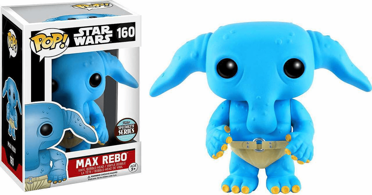 Funko Pop Star Wars Vinyl 160 Max Rebo Figure
