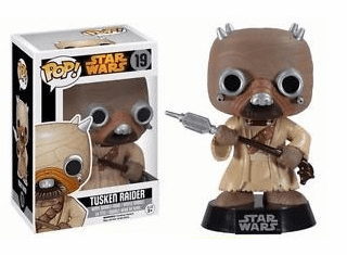 Funko Pop Star Wars Vinyl 19 Tusken Raider Bobblehead