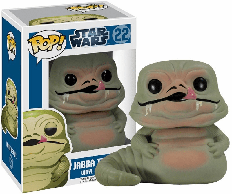 Funko Pop Star Wars Vinyl 22 Jabba The Hutt Bobblehead