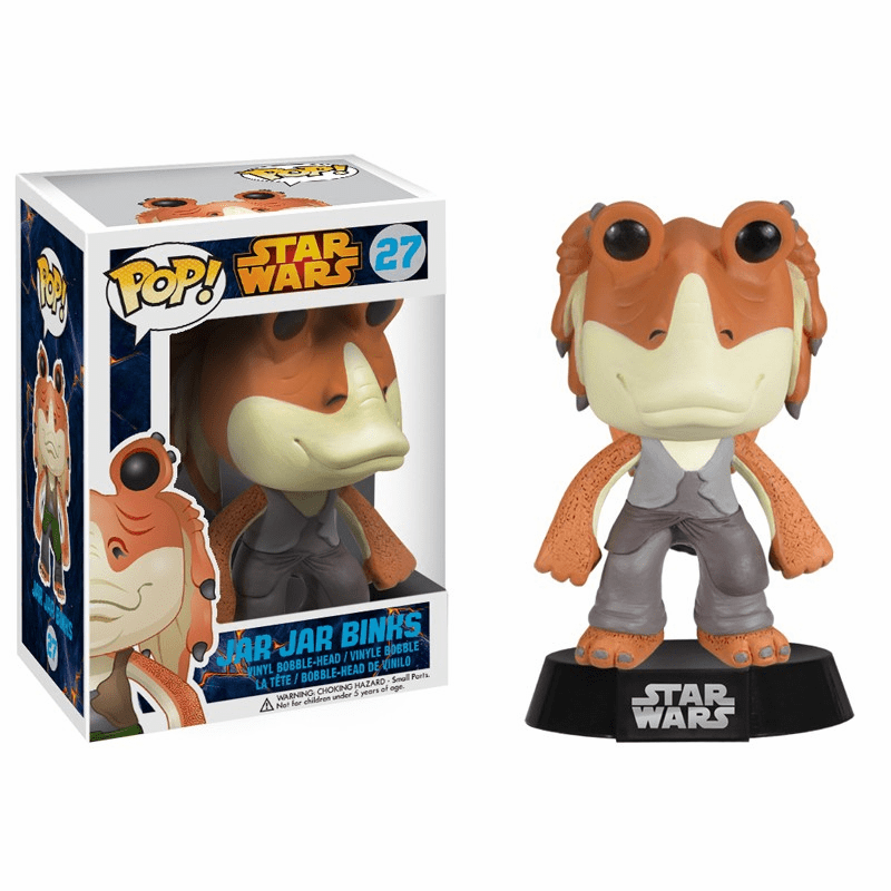 Funko Pop Star Wars Vinyl 27 Jar Jar Binks Bobblehead
