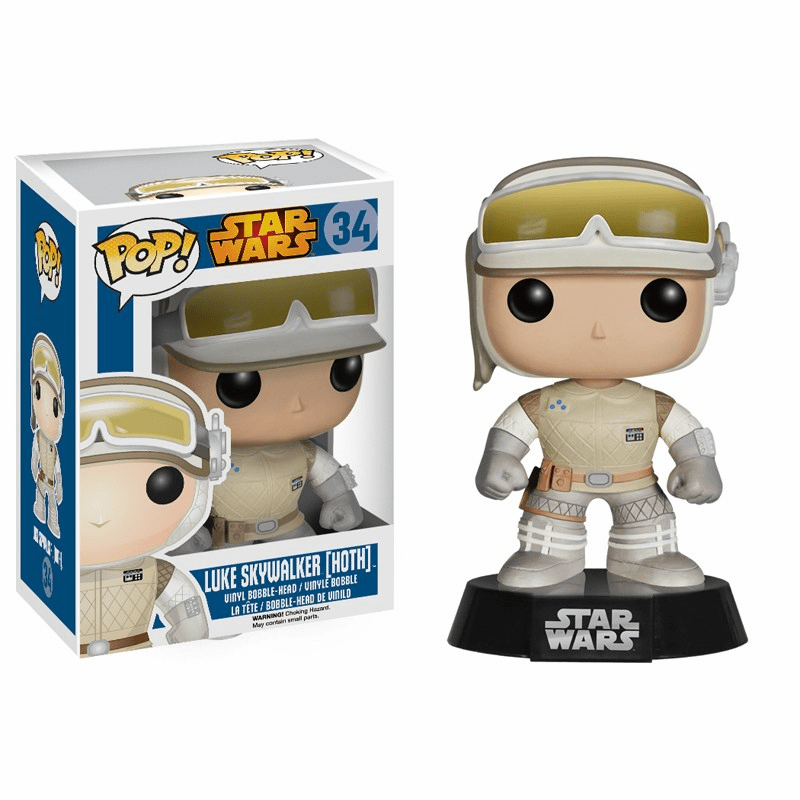 Funko Pop Star Wars Vinyl 34 Luke Skywalker Hoth Figure