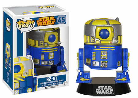 Funko Pop Star Wars Vinyl 45 R2-B1 Bobblehead