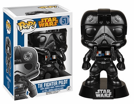 Funko Pop Star Wars Vinyl 51 TIE Fighter Pilot Figure