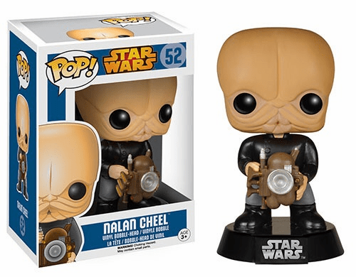 Funko Pop Star Wars Vinyl 52 Nalan Cheel Figure