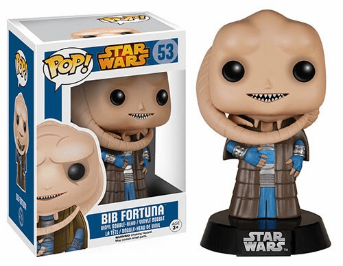 Funko Pop Star Wars Vinyl 53 Bib Fortuna Figure