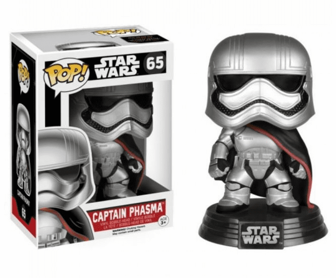 Funko Pop Star Wars Vinyl 65 Captain Phasma Figure