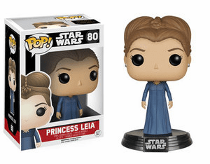 Funko Pop Star Wars Vinyl 80 The Force Awakens Princess Leia Figure