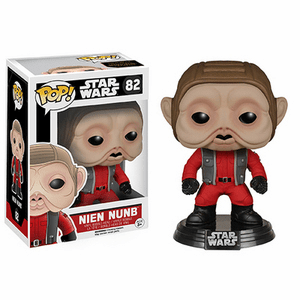 Funko Pop Star Wars Vinyl 82 The Force Awakens Nien Nunb Figure