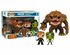Funko Pop Star Wars Vinyl Rancor 3 Pack Set