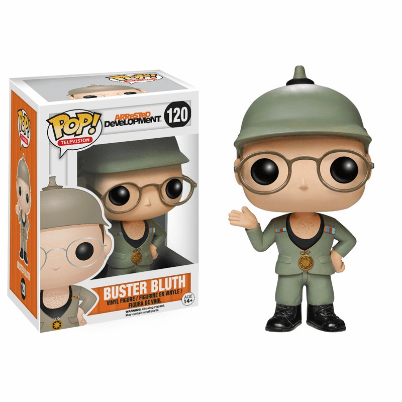 Funko Pop TV 120 Arrested Development Good Grief Buster Bluth Figure