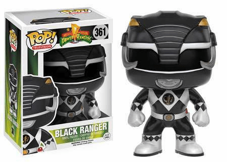 Funko Pop TV 361 Mighty Morphin Power Rangers Black Ranger Figure