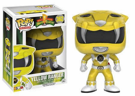 Funko Pop TV 362 Mighty Morphin Power Rangers Yellow Ranger Figure