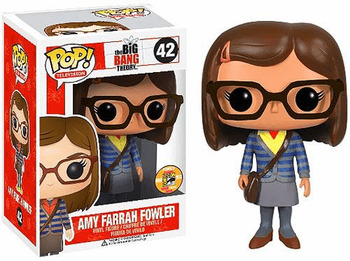 Funko Pop TV 42 Big Bang Theory Amy Fowler SDCC Variant Figure
