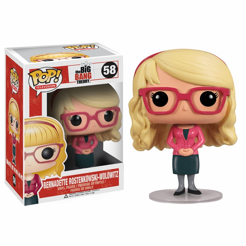 Funko Pop TV 58 Big Bang Theory Bernadette Wolowitz Figure