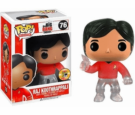Funko Pop TV 76 Big Bang Theory Star Trek Raj SDCC Variant Figure