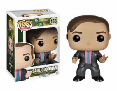 Funko Pop TV Breaking Bad Saul Goodman Figure
