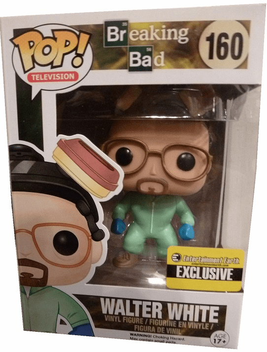 Funko Pop TV Breaking Bad Walter White Green Variant Figure