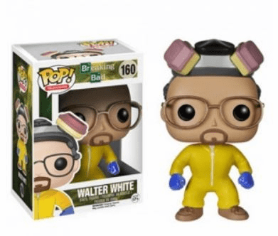 Funko Pop TV Breaking Bad Walter White Variant Figure