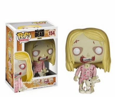 Funko Pop TV The Walking Dead Teddy Bear Girl Figure