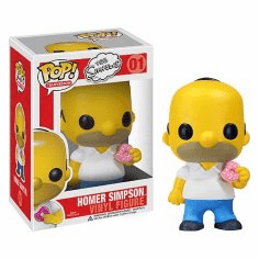 Funko Pop TV Vinyl 01 The Simpsons Homer Figure