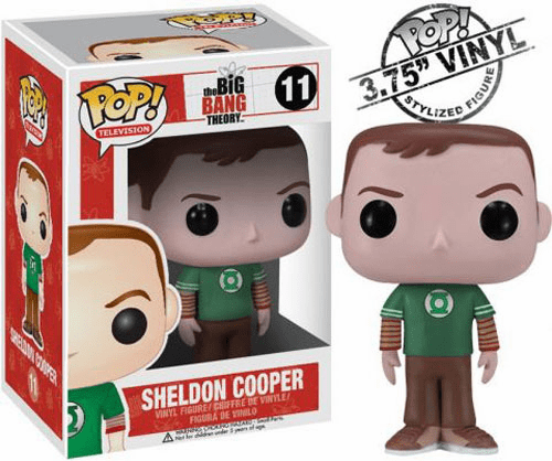 Funko Pop TV Vinyl 11 The Big Bang Theory Sheldon Cooper Figure