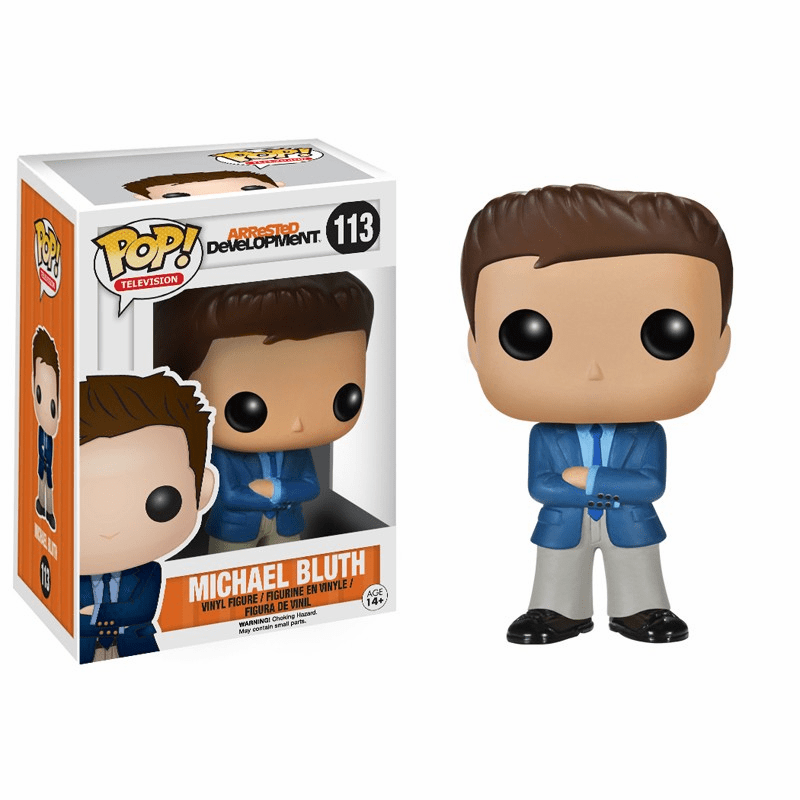 Funko Pop TV Vinyl 113 Arrested Development Michael Bluth Figure