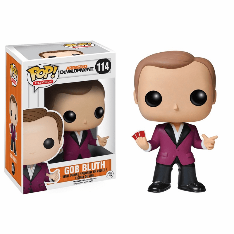 Funko Pop TV Vinyl 114 Arrested Development Gob Bluth Figure