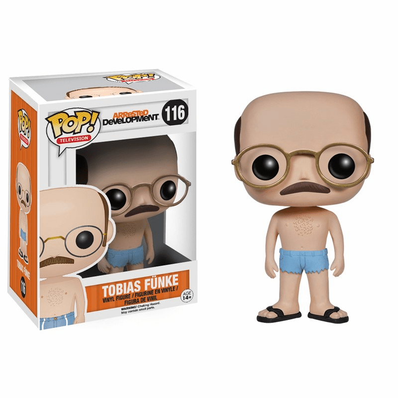 Funko Pop TV Vinyl 116 Arrested Development Tobias Funke Figure