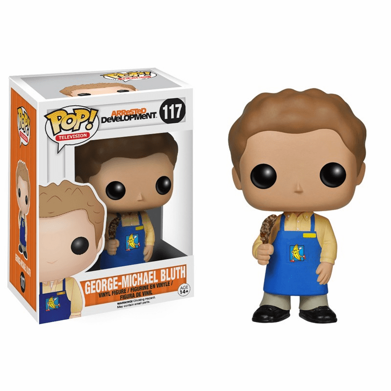 Funko Pop TV Vinyl 117 Arrested Development George Michael Figure
