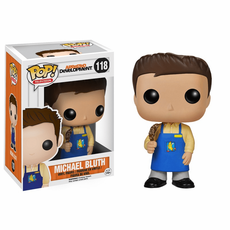 Funko Pop TV Vinyl 118 Arrested Development Banana Stand Bluth Figure