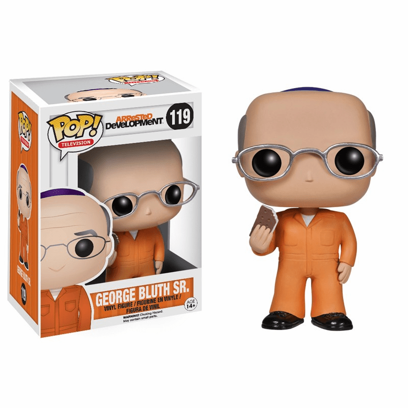 Funko Pop TV Vinyl 119 Arrested Development George Bluth Sr Figure