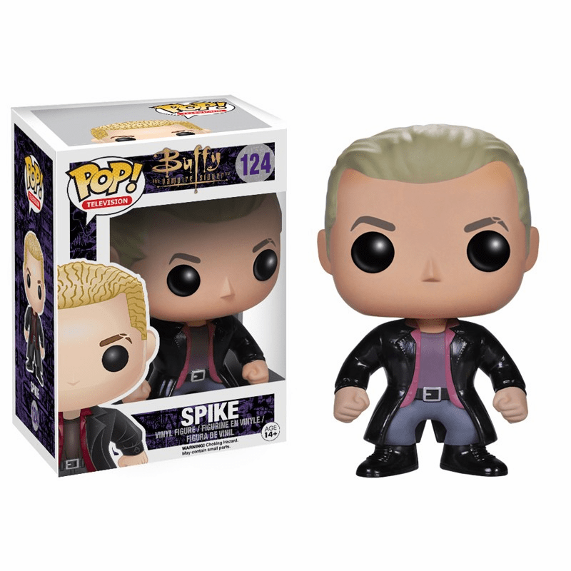 Funko Pop TV Vinyl 124 Buffy the Vampire Slayer Spike Figure