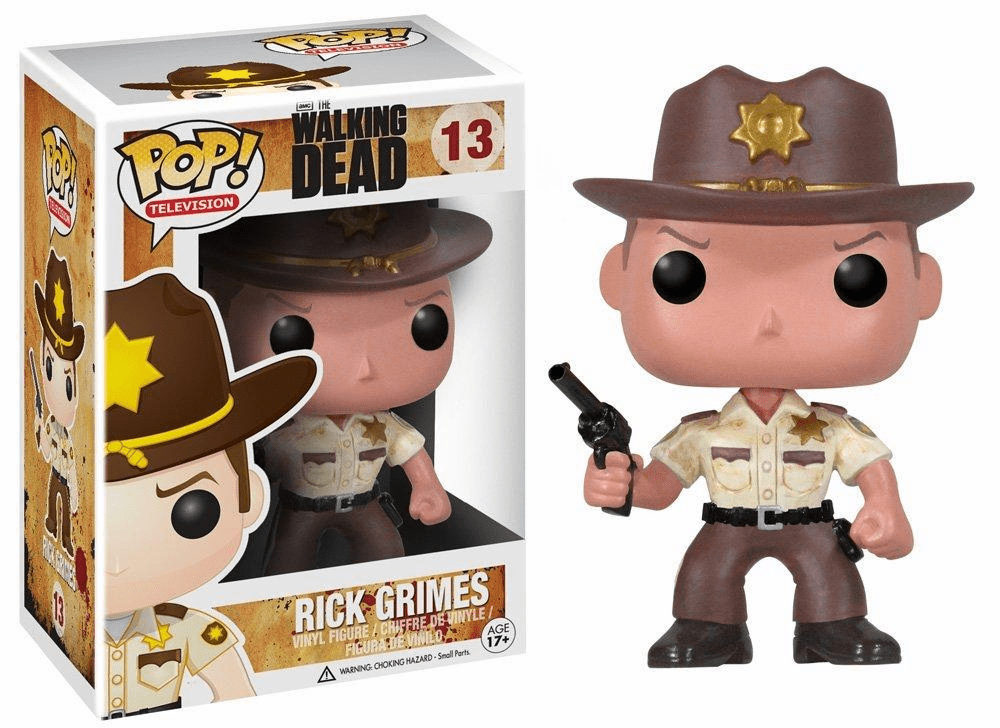 Funko Pop TV Vinyl 13 The Walking Dead Rick Grimes Figure