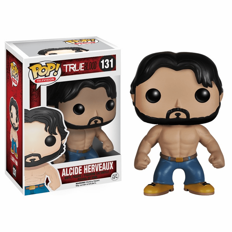 Funko Pop TV Vinyl 131 True Blood Alcide Herveaux Figure