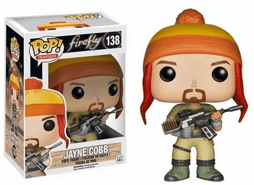 Funko Pop TV Vinyl 138 Firefly Jayne Cobb Figure