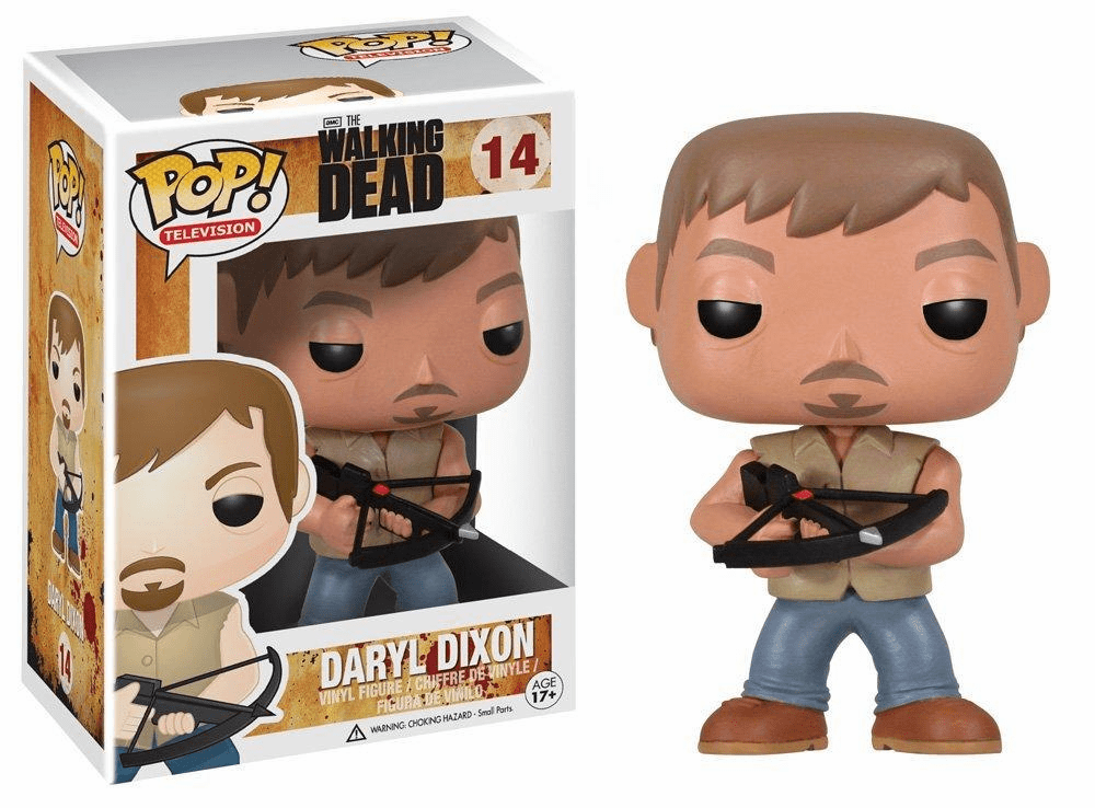 Funko Pop TV Vinyl 14 The Walking Dead Daryl Dixon Figure