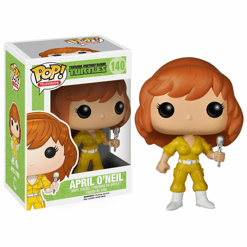 Funko Pop TV Vinyl 140 Teenage Mutant Ninja Turtles April O'Neil Figure