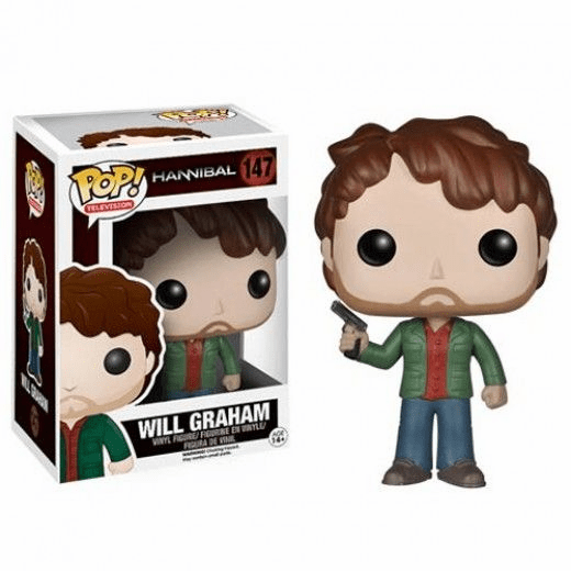 Funko Pop TV Vinyl 147 Hannibal Will Graham Figure