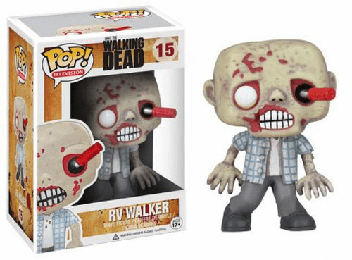 Funko Pop TV Vinyl 15 The Walking Dead RV Walker Figure